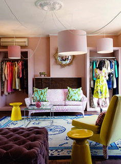 #SouthAfrican designer Kluk CGDT's third showroom in Brooklyn, Pretoria is an eclectic #luxury space.