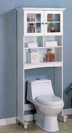 54 trendy bathroom storage shelf over toilet sinks Dyi Bathroom Remodel, Bathroom Shelf Decor, Bathroom Storage Shelves, Bathroom Sets, Diy Storage, Bathroom Remodeling, Remodeling Ideas, Bathroom Photos, Simple Bathroom