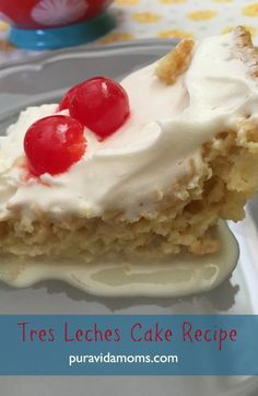 The complete recipe for Tres Leches Cake- Costa Rica style. La receta completa para el Tres Leches- estilo costarricense.