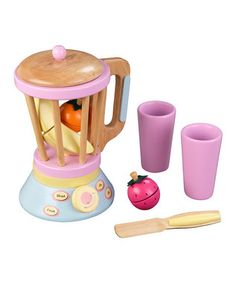 Pastel smoothie set. KidKraft | Daily deals for moms, babies and kids