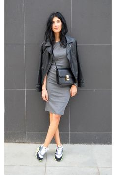 Gorgeous street style fashion! Women's casual fall fashion clothing outfit
