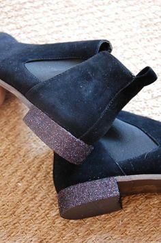 à faire sur de vieilles sandales