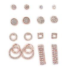 8Pack Diamante Earrings - Evening   YDE South African Fashion, Diamond Earrings, Stud Earrings, Sale Items, Perfume, Jewelry, Jewlery, Jewerly, Stud Earring
