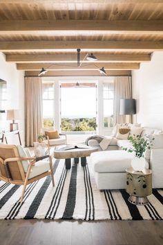 Dream Home: A Neutral Beach House Beauty in South CarolinaBECKI OWENS Facades, Roman Shades, Miami, Curtains, Bath, Rugs, Home Decor, Beach Homes, Summer Time