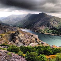 Snowdonia National Park, Wales. Beautiful!