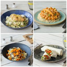These were the delicious dinners we loved at the Fresh Farm this week! What is your favourite dish? #hellofreshuk #dinner #instafood #recipes #yummy