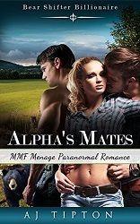 4 stars for Alpha's Mates by AJ Tipton  http://purejonel.blogspot.ca/2015/04/AlphasMates.html