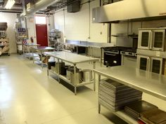 1400 sq. ft. commercial kitchen space