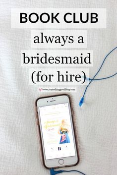 Sunday Book Club: Always a Bridesmaid (For Hire) by Jen Glantz | Something Good