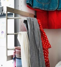 Inspiration for Getting Organized for the New Year | Babble Pull out rack