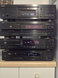 3rd Gen CD players: Sony XA3es, Denon DCD1520, Denon DCD1500-2, Sony CDP491