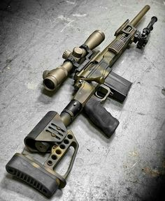 Mil-spec sniper rifle