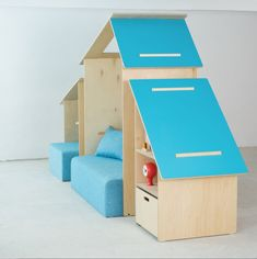 Wooden playhouse that will make your kids fall in love #kidsroom #casegoodsforkids #kidsdesign Find more inspirations at www.circu.net