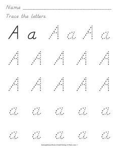 D'-Nealian Handwriting Worksheets by Lauren Woods | TpT