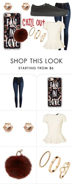 """""""CHILL OUT"""" by nat-nat123 ❤ liked on Polyvore featuring Casetify, River Island, Yves Salomon, H&M and Vans"""