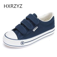 HXRZYZ autumn height increasing canvas shoes new fashion blue shoes women casual sneakers ladies platform plimsolls flat shoes. Yesterday's price: US $15.75 (12.90 EUR). Today's price: US $15.75 (12.96 EUR). Discount: 80%.