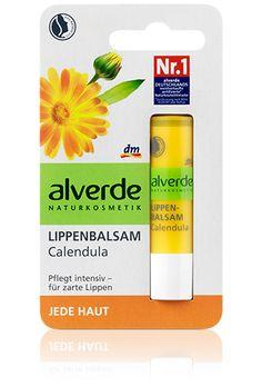 alverde Lippenbalsam Calendula, muß ich unbedingt probieren.