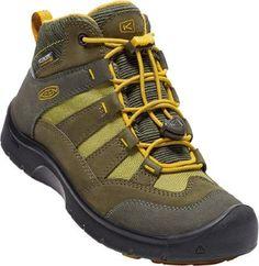 f47dfa2719 KEEN Hikeport Mid Waterproof Hiking Boots Dark Olive/Citrus 6 Waterproof  Hiking Boots, Dress