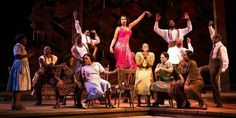 The cast of Broadway's The Color Purple gathered on stage Thursday night for an inspiring tribute to music legend Prince, who died earlier in the day.