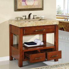 Single Reclaimed Teak Washstand | Badezimmer, Teak Und Badezimmermöbel Single Badezimmer