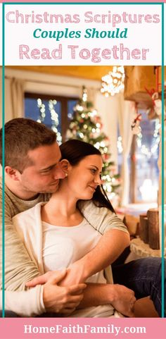 Are you looking for a perfect Christmas tradition or date night idea to grow closer to your spouse? These Christmas scriptures couples should read together will take your bible studies from mediocre to spiritually filling. Click to read and start studying. #BibleStudies #Marriage #ChristmasTraditions via @homefaithfamily