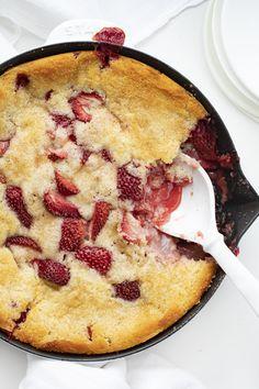 Iambaker Recipe Index   i am baker Strawberry Muffin Recipes, Strawberry Cobbler, Strawberry Muffins, Strawberry Shortcake Recipes, Fruit Recipes, Sweet Recipes, Fresh Strawberry Desserts, Strawberry Fields, Sweets