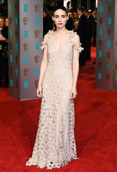 The Best Dresses on the BAFTAs Red Carpet via @WhoWhatWear