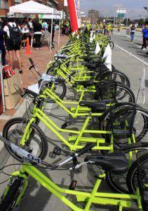 Colombia: Bicicletas que fueron donadas para mejorar movilidad siguen paradas