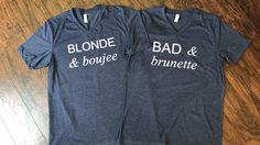 Blonde and boujee bad and brunette bad and boujee tank cute