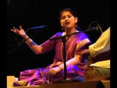 ▶ Thumri -- Yaad Piya Ki Aaye -- Kaushiki Chakrabarty -- Part 1 of 2 - YouTube
