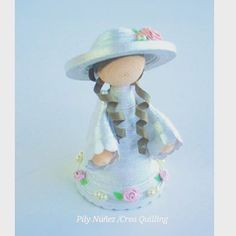 Crea quilling doll