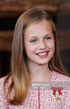 "Princess Leonor of Spain attends the ""Order of the Civil Merit""."