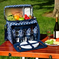 Picnic At Ascot Picnic Cooler for 4 on Wheels - 330-TB