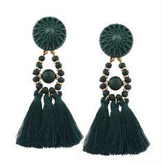 Fashion Bohemian Earrings Women Long Tassel Fringe Dangle Earrings Jewelry
