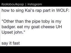 EXO - WOLF (KAI RAP)