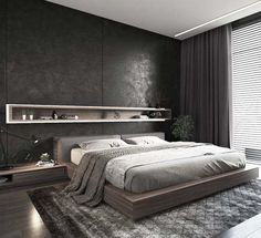 Beautiful Master Bedrooms with Modern Interior Decor - Gazzed - Designer bedroom design. Beautiful Master Bedrooms with Modern Interior Decor The Effective Picture - Modern Bedroom Design, Master Bedroom Design, Home Decor Bedroom, Master Bedrooms, Bedroom Ideas, Modern Mens Bedroom, Bedroom Inspiration, Bedrooms For Men, Masculine Master Bedroom