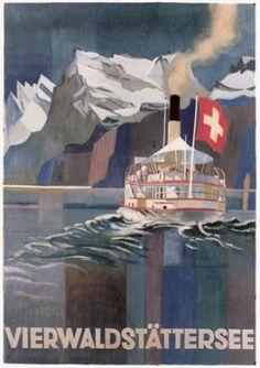 Otto Bamberger 1928 Vierwaldstättensee