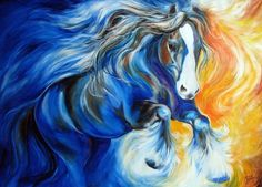 gypsy vanner horse painting | ZORRO the GYPSY VANNER Art Prints by Marcia Baldwin - Shop Canvas and ...