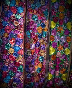 Say these in Mexico and they are so stunning. Wish I would have bought one! Mexican Folk Art, Mexican Style, Mexican Textiles, Mexican Fashion, Mexican Embroidery, Mexican Designs, Arte Popular, Pattern Design, Decoration