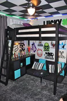 © Alina Other Interiors Teen Room Decor, Room Decor Bedroom, Small Lounge, Bedroom Loft, Teen Bedroom, Interior Decorating, Bmx Scooter, Home Decor, Women's Cycling