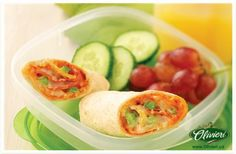Need to have dinner on the go? These Smart Pizza Wraps are perfectly portable.