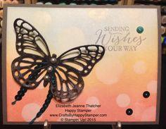 Stampin Up Butterfly Basics stamp set and framelits card video on blog