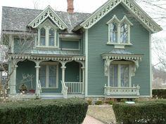 Victorian Homes ▇  #Home #Design http://www.IrvineHomeBlog.com/HomeDecor/  ༺༺  ℭƘ ༻༻