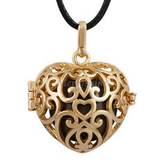 Gold-Heart-Cage-30-Inch-Wax-Leather-Chain-Necklace-Dream-Bell-20mm-Angel-Sounds-Pendant-To.jpg (600×600)