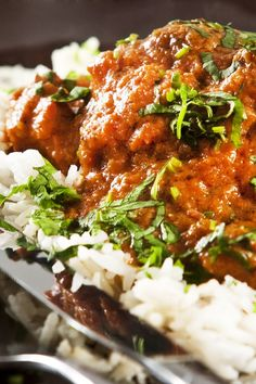 Indian Lamb Curry. I had Indian food for the first time recently and this dish was delicious.