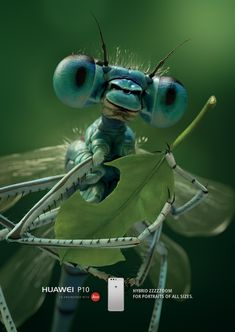 Huawei Print Ad - Dragonfly