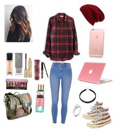"""Study outfit"" by dc00568601 on Polyvore featuring Halogen, Madewell, River Island, Clinical Care Skin Solutions, Marvel, MAC Cosmetics, Burberry, Stila, Anastasia Beverly Hills and Kylie Cosmetics"