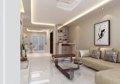 Ceiling Designs for Your Living Room - Decor Around The World Plaster Ceiling Design, Ceiling Design Living Room, Bedroom False Ceiling Design, Living Room Designs, Living Room Decor, Apartment Interior Design, Minimalist Home, Modern House Design, Cozy House