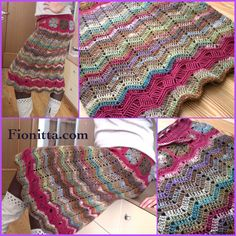 Skirt with grannysquares
