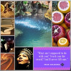 Aesthetic for the character of Iman. The stewardess of House Arlbond has many jobs. She protects Arlent, deals with all the paper work, bakes pies, and also trains annoying protagonists.